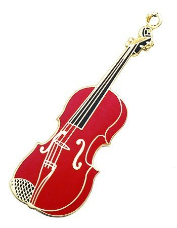 View larger image of Violin Keychain - Burgundy