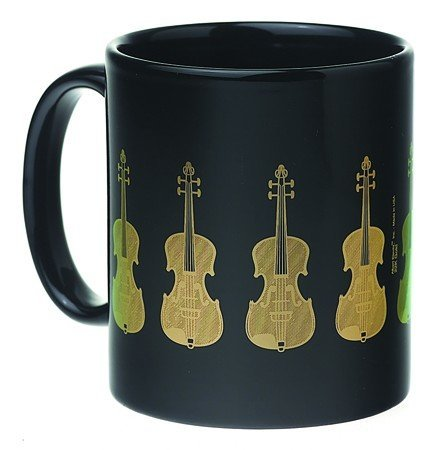 View larger image of Violin Mug - Black/Gold