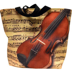 Violin/Sheet Music Tote Bag