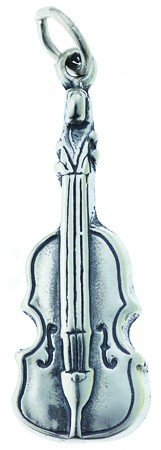 View larger image of Violin Silver Charm