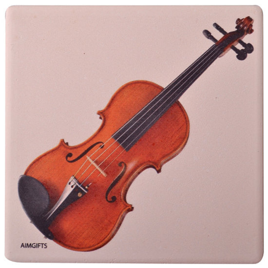 View larger image of Violin Stone Coaster