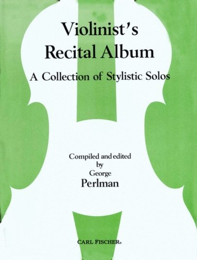 View larger image of Violinist's Recital Album - (A Collection Of Stylistic Solos)