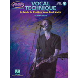 Vocal Technique - A Guide To Finding Your Real Voice w/Online Audio