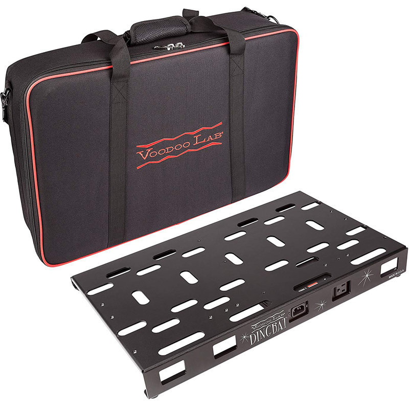View larger image of Voodoo Lab Dingbat Medium Pedalboard with Pedal Power 2 PLUS