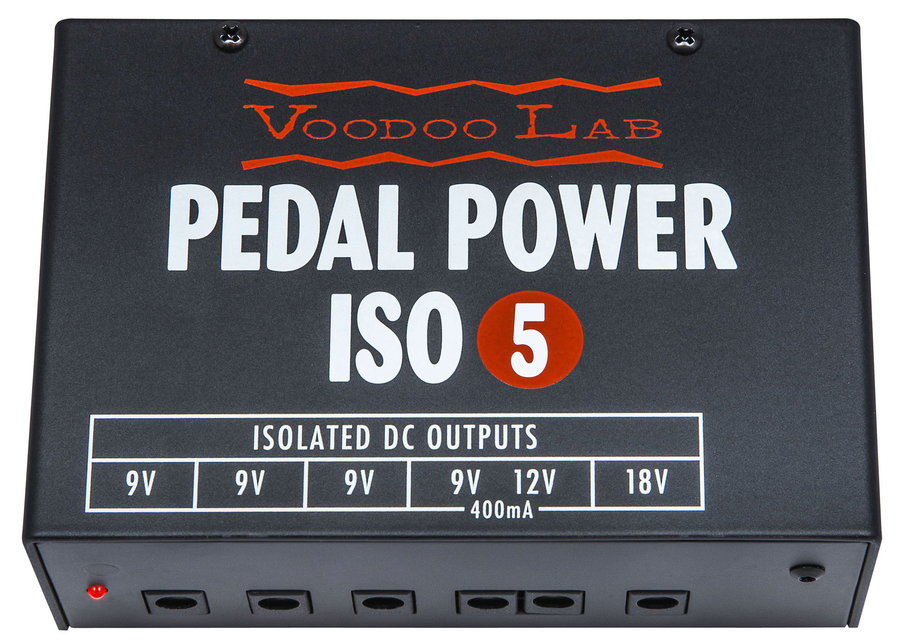 View larger image of Voodoo Lab Pedal Power ISO-5 Isolated Power Supply