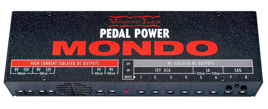 View larger image of Voodoo Lab Pedal Power MONDO Isolated Power Supply