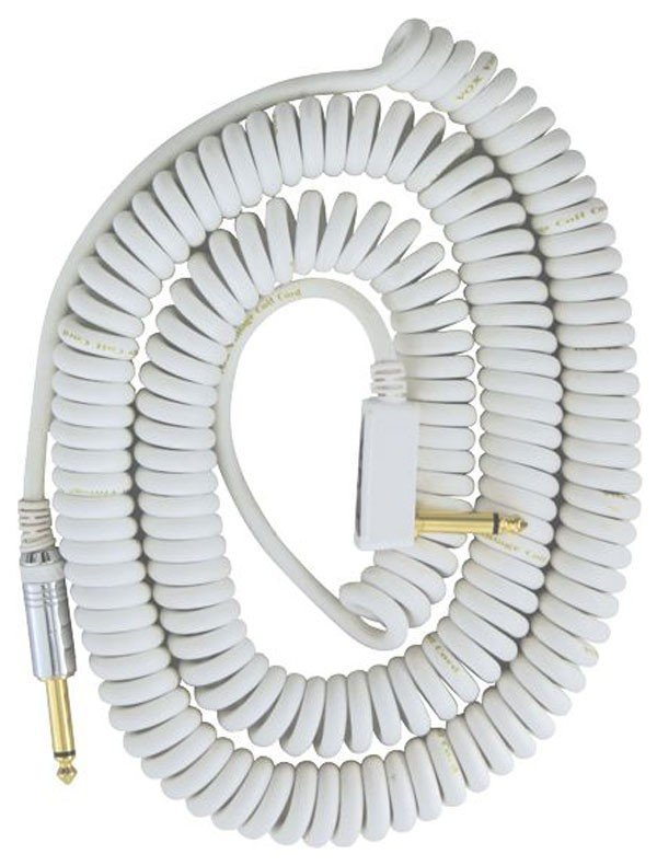 View larger image of Vox VCC90 Vintage Coiled Cable Patch - White - 9m