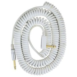 Vox VCC90 Vintage Coiled Cable Patch - White - 9m