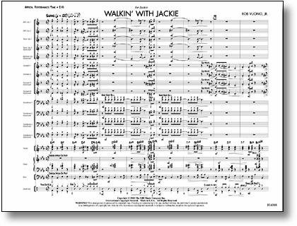 View larger image of Walkin with Jackie - Score, Grade 1.5