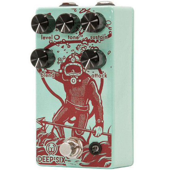 View larger image of Walrus Audio Deep Six Compressor Pedal