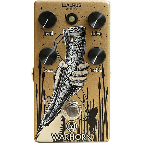 View larger image of Walrus Audio Warhorn Mid-Range Overdrive Pedal