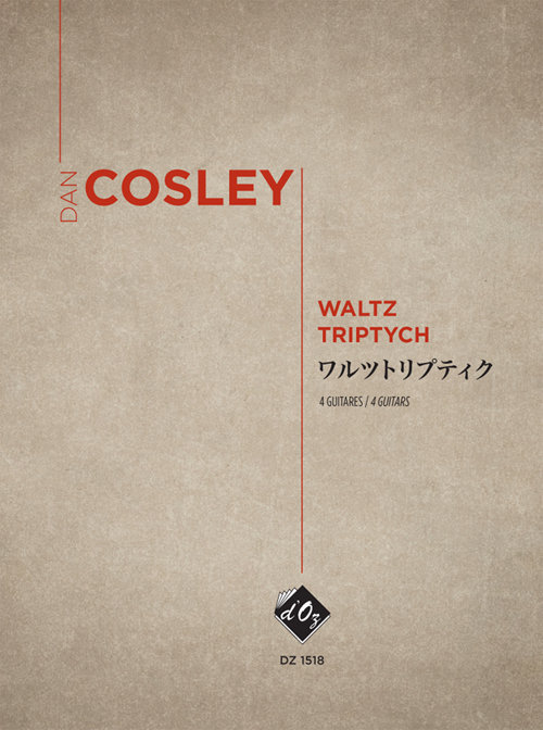View larger image of Waltz Triptych (Cosley) - Guitar Quartet