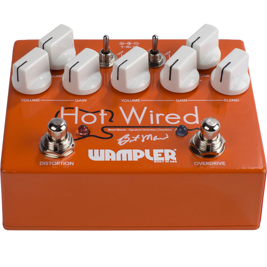 View larger image of Wampler Brent Mason Hot Wired v2 Pedal