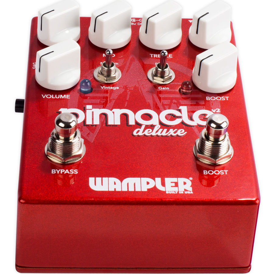 View larger image of Wampler Pinnacle Deluxe V2 Overdrive Pedal