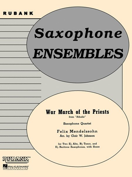 View larger image of War March of the Priests - Saxophone Quartet