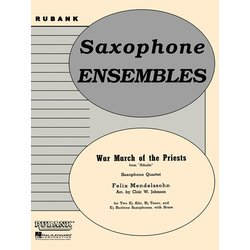 War March of the Priests - Saxophone Quartet