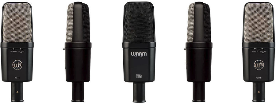 View larger image of Warm Audio WA-14 Large Diaphragm Condenser Microphone