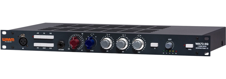 View larger image of Warm Audio WA73-EQ Microphone Preamp & EQ