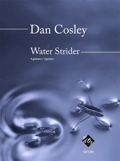 View larger image of Water Strider (Cosley) - Guitar Quartet