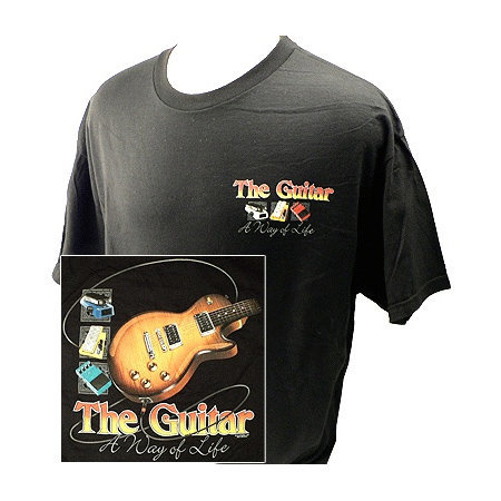 View larger image of Way of Life with Guitars T-Shirt - XL