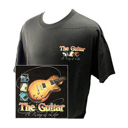 Way of Life with Guitars T-Shirt - XL