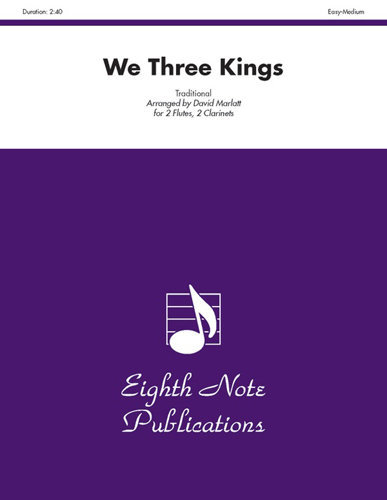 View larger image of We Three Kings - Woodwind Quartet