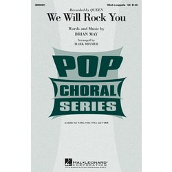 We Will Rock You (Queen) - A Capella - SSAA, Parts