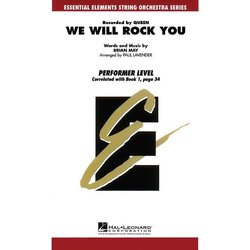 We Will Rock You - Score & Parts, Grade 1