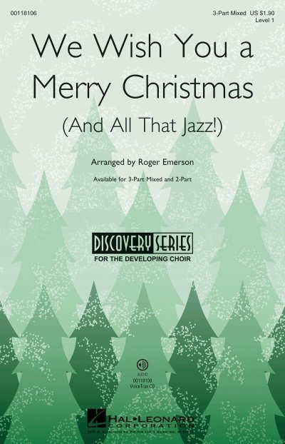 View larger image of We Wish You a Merry Christmas (and All That Jazz), 3PT Mixed Parts