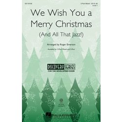 We Wish You a Merry Christmas (and All That Jazz) - VoiceTrax CD