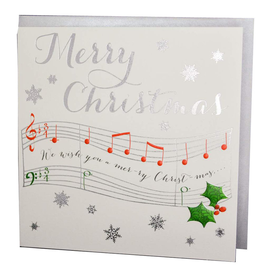View larger image of Wendy Blackett Card - Merry Christmas