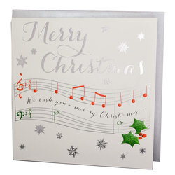 Wendy Blackett Card - Merry Christmas