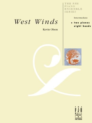 View larger image of West Winds - Piano Duet (2P8H)