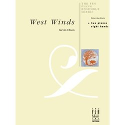 West Winds - Piano Duet (2P8H)