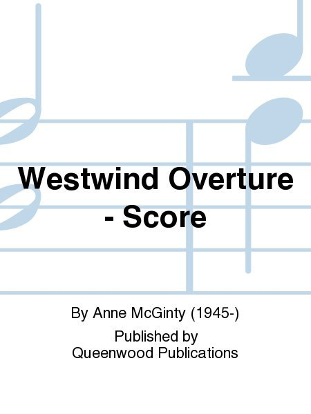 View larger image of Westwind Overture - Score, Grade 1