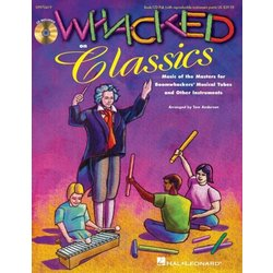 Whacked on Classics (Collection) - Bk w/Online Audio