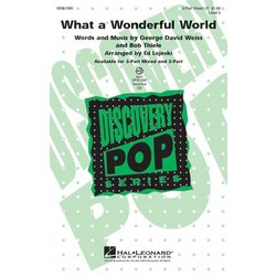 What a Wonderful World (L.Armstrong), 3PT Mixed Parts