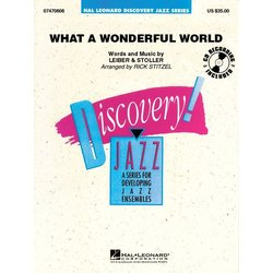 What a Wonderful World (Louis Armstrong) - Score & Parts, Grade 1