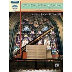 What Can We Play on Sunday? Book 6: November & December Services (1P4H)