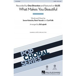 What Makes You Beautiful (One Direction/Glee), SATB Parts
