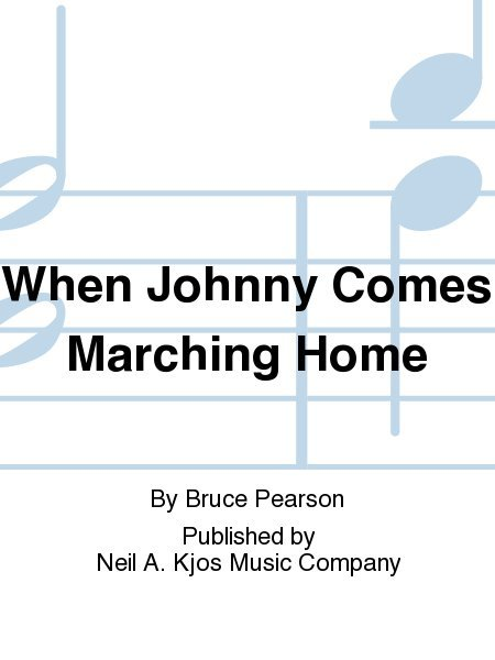 View larger image of When Johnny Comes Marching Home - Score & Parts, Grade 2
