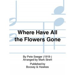 Where Have All the Flowers Gone - Flute Accomp Part
