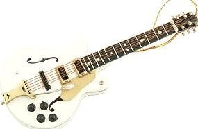 View larger image of White Falcons Electric Guitar Ornament - 5