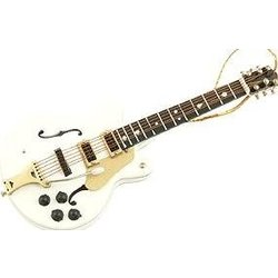 White Falcons Electric Guitar Ornament - 5