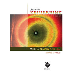White, Yellow And Red (Kruisbrink) - Guitar Trio