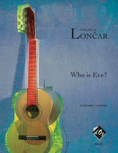 View larger image of Who Is Eve? (Loncar) - Guitar Duet