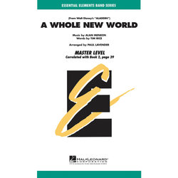 Whole New World - Score & Parts, Grade 1.5