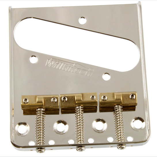 View larger image of Wilkinson  Staggered Saddle Bridge for Telecaster