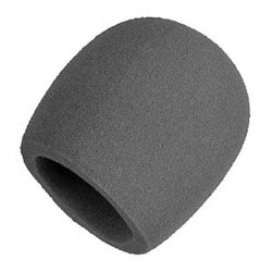 Windscreen for Ball-Type Microphones - Grey