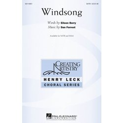Windsong, SATB Parts